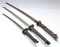 Sale 9164 - Lot 4 - Collection of Japanese swords