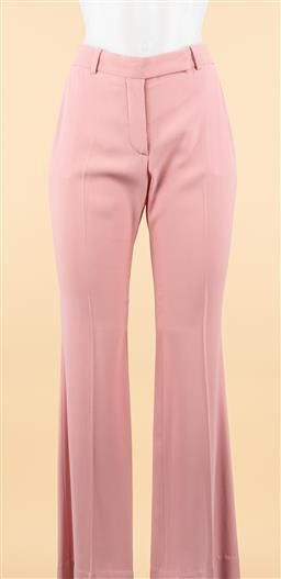 Sale 9250F - Lot 37 - A pair of Alexander McQueen pale pink trousers, size 38, made in Italy.