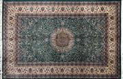 Sale 8213C - Lot 33 - Pak Persian Kashan Silk & Wool 290cm x 190cm