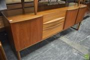 Sale 8326 - Lot 1037 - Good McIntosh Dungiven Teak Sideboard