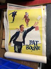 Sale 8797 - Lot 2136 - Collection of Vintage Movie Posters incl. Counter Point; The  long Day Dying; Dont Just Stand There; etc
