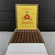 Sale 8970 - Lot 623 - Montecristo No. 1 Cuban Cigars - box of 10, stamped July 2016