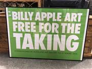Sale 8990 - Lot 2075 - Billy Apple Art: Free for the Taking commissioned by Auckland Art Gallery 2015 -