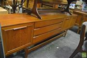 Sale 8350 - Lot 1042 - Beautility Teak Sideboard