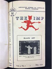 Sale 8539M - Lot 49 - 'The Imp Magazine', May 1939 - January 1940 vol 5 no. 1-6. Nicely bound in brown hardback