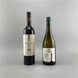 Sale 9187W - Lot 125 - 2x Wines - Septima Malbec & Two Towns Pinot Gris