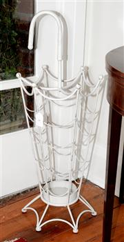 Sale 8088A - Lot 8 - A French style painted metal umbrella stand