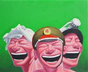 Sale 8173A - Lot 73 - Contemporary Chinese School (XX) - Three Wise Men 60 x 50cm (framed & ready to hang)