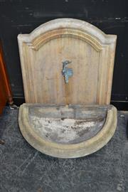 Sale 8129 - Lot 1011 - Decorative Wall Mount Tap ( Water Feature)