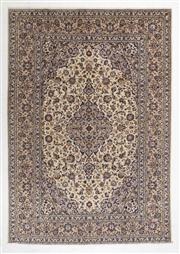 Sale 8770C - Lot 55 - A Persian Kashan From Isfahan Region 100% Wool Pile On Cotton Foundation, 353 x 250cm