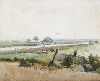 Sale 3847 - Lot 98 - ALBERT FULLWOOD (1863 - 1930, English) - Norfolk Broads 32 x 40 cm