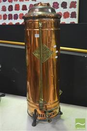 Sale 8323 - Lot 1009 - Vintage Copper Heater