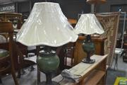Sale 8331 - Lot 1323 - Pair of Table Lamps