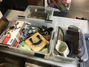 Sale 8659 - Lot 2181 - 3 Boxes of Kitchenwares