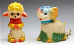 Sale 9185 - Lot 71 - A childrens night light together with another (2) (H: 25cm)