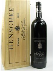 Sale 8238 - Lot 1696 - 1x 1998 Henschke Hill of Grace Shiraz. Eden Valley - in timber presentation box