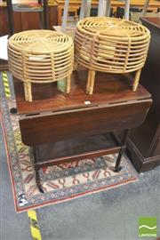 Sale 8404 - Lot 1079 - Drop Side Drinks Trolley