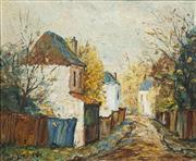 Sale 8475 - Lot 501 - Doreen Gadsby (1926 - ) - Late Autumn 36 x 43cm