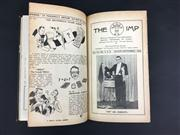 Sale 8539M - Lot 52 - The Imp Magazine, Feb 1942 (vol. 8 no. 1) to Sep/Oct 1945 (vol. 2 no. 9-10) bound in brown cloth