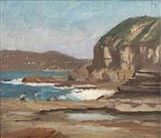 Sale 8558 - Lot 596 - Albert Rydge (1903 - 1971) - Terrigal, N.S.W 1966 40 x 50cm