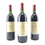 Sale 8687 - Lot 809 - 3x 1989 Chateau Branaire-Ducru, 4me Cru Classe, Saint-Julien - into neck
