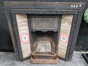 Sale 8744 - Lot 1002 - Victorian Cast Iron Fire Place