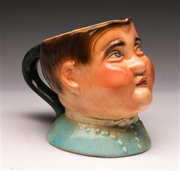 Sale 9098 - Lot 176 - Character Jug Made in England marked Fat-Boy (h:12cm)