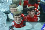 Sale 7875 - Lot 33 - Royal Doulton Toby Jugs Liverpool, Arsenal & Leeds