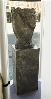 Sale 8310A - Lot 9 - Liana Vassalou - Untitled Sculpture, Torso Total H 178cm