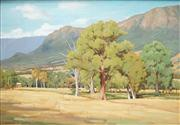 Sale 8558 - Lot 528 - Harley Griffiths (1908 - 1981) - Autumn Landscape, Taggerty 1974 74 x 100.5cm