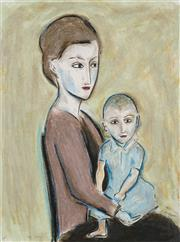 Sale 8755A - Lot 5028 - Robert Dickerson (1924 - 2015) - The Child 75 x 55cm (frame: 98 x 79cm)