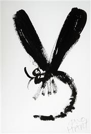 Sale 8947A - Lot 5035 - Kevin Charles (Pro) Hart (1928 - 2006) - Dragonfly 29 x 19.5 cm (frame: 57 x 47 x 2 cm)