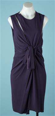 Sale 9027F - Lot 75 - A The Kooples cocktail dress in aubergine, size XS