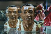 Sale 7875 - Lot 25 - Royal Doulton Pair of Jesse Owens Toby Jugs