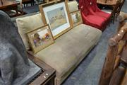 Sale 8013 - Lot 1025 - Three Seater Brown Suede Modular Sofa by King Furniture