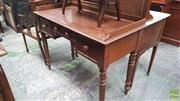 Sale 8375 - Lot 1045 - Late C19th Cedar Washstand, with three drawers
