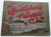 Sale 8639 - Lot 85 - Pictures of The Battlefields of Anzacs on which the Australasians won deathless fame, a deeply interesting and historical series of...