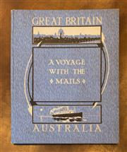 Sale 8261A - Lot 73 - Souvenir Book, A Voyage with the Mails, with one page of autographs of the English Cricket Team in Australia in 1924/1925 (a complet...