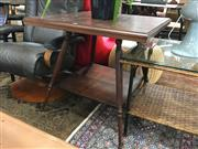 Sale 8782 - Lot 1368 - Square Timber Occasional table