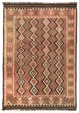 Sale 9123J - Lot 182 - A vintage Kilim rug, the repeating diamond pattern over a tawny coloured ground, 300 x 200cm