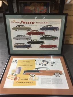 Sale 9152 - Lot 2523 - 2 Car Posters; 2 Car repo Posters & Movie poster