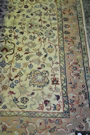 Sale 8093 - Lot 1754A - Hall Runner w Floral Designs on Cream Background (70 x 432cm)