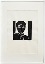 Sale 8282A - Lot 19 - Robert Dickerson (1924 - 2015) - Young Actor 30 x 30cm (frame size: 102 x 72cm)