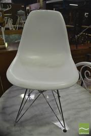 Sale 8406 - Lot 1081 - Pair of Eifel Base Dining Chairs
