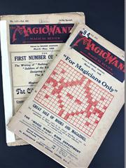 Sale 8539M - Lot 55 - 'The Magic Wand' Magical Review March-May 1923 & 1925