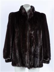 Sale 9003F - Lot 51 - A Mink Cornelius Fur Jacket With initials S.N Sydney Original, size S