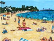 Sale 9038A - Lot 5003 - Stanley Perl (1942 - ) - Clear Skies, Watsons Bay 61 x 46 cm