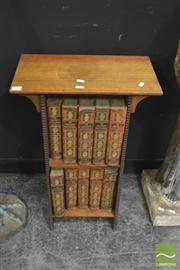Sale 8251 - Lot 1003 - Open Shelf with vintage books