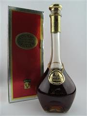 Sale 8385 - Lot 603 - 1x Gautier XO Cognac - old bottling, decanter form bottle in box