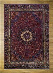 Sale 8566C - Lot 8 - Early C20th Persian Tabriz 420cm x 292cm